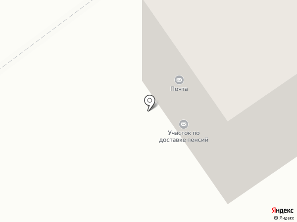 Участок по доставке пенсий по г. Ишимбаю и Ишимбайскому району на карте Ишимбая