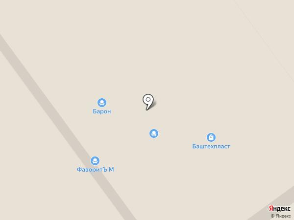 Мелета-двери на карте Ишимбая