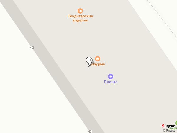 Причал на карте Ишимбая