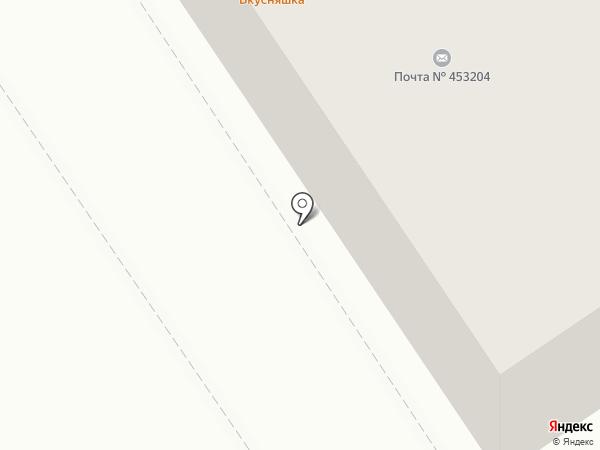 Почтовое отделение №4 на карте Ишимбая
