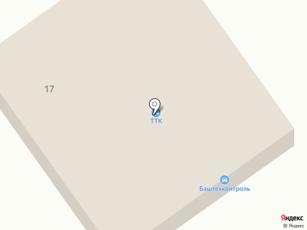ТТК на карте Ишимбая