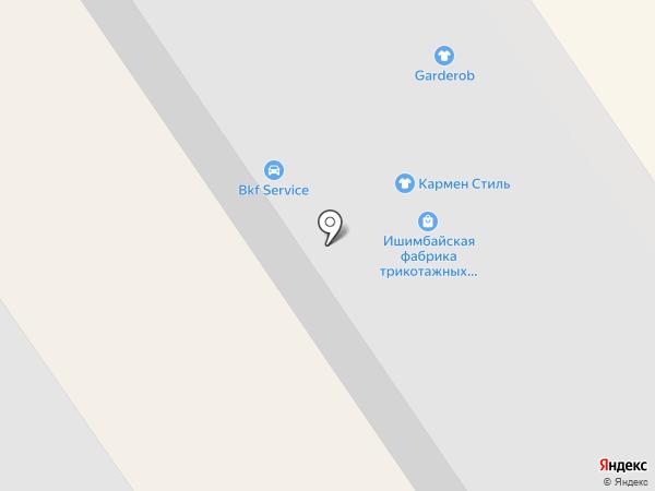 Банкомат, Уральский банк Сбербанка России на карте Ишимбая