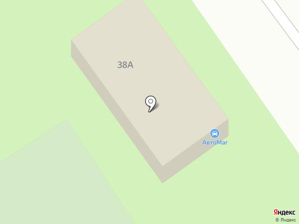 Автомаг на карте Ишимбая