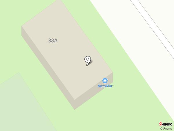 Магазин автотоваров на карте Ишимбая