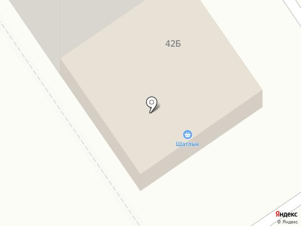 Арт-Николь на карте Ишимбая