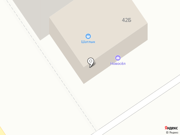 АлНаз на карте Ишимбая