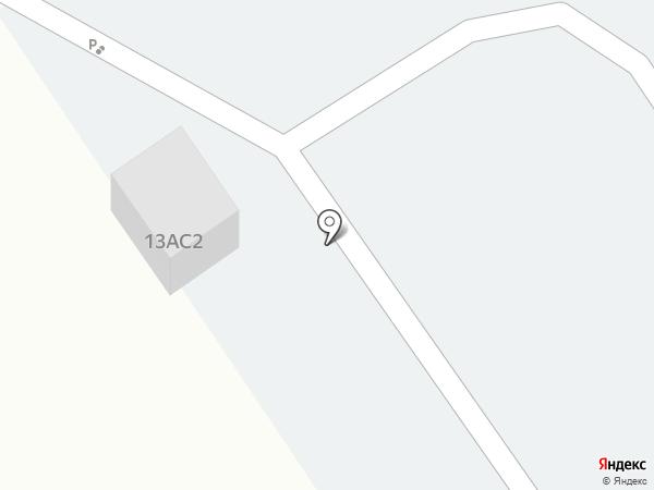 Автостоянка на ул. Чкалова на карте Ишимбая