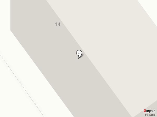 Общежитие на карте Ишимбая