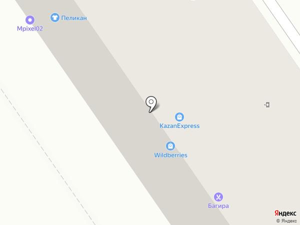 Аврора на карте Ишимбая