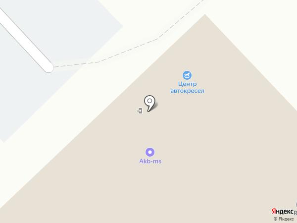 МК Щит на карте Уфы