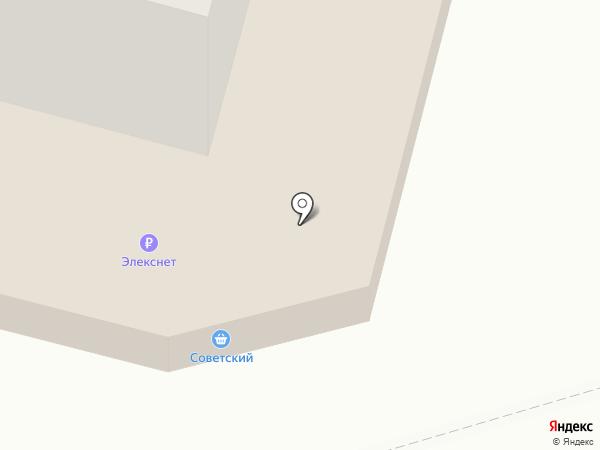 Советская на карте Уфы