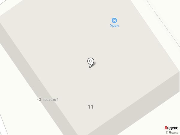 Каспер на карте Ишимбая