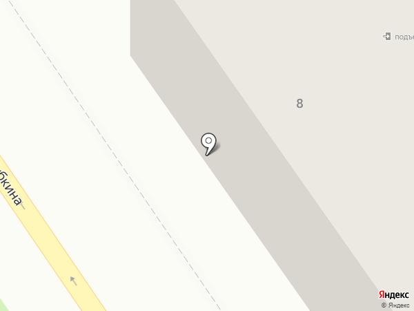 Якетория на карте Ишимбая