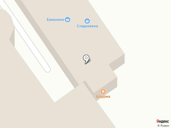 Киоск по продаже шаурмы на карте Ишимбая