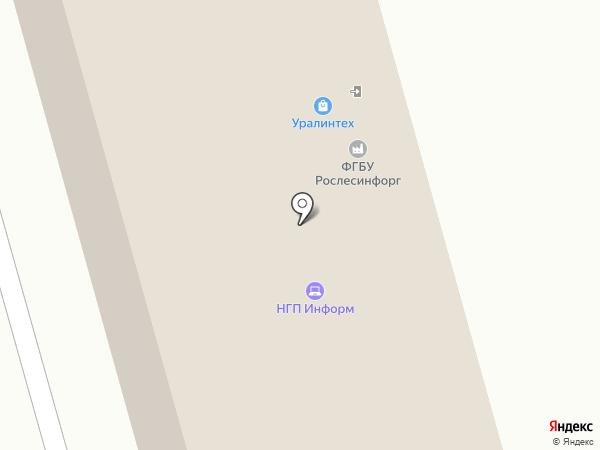 Тихая Слобода, ПЖСК на карте Уфы
