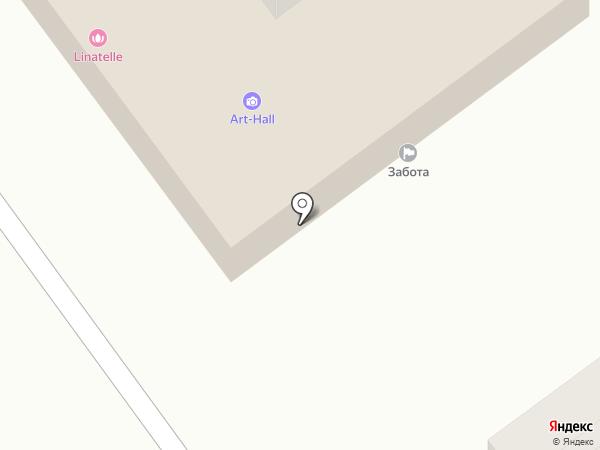 Росток на карте Ишимбая