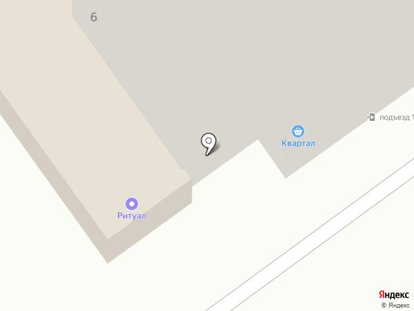Квартал на карте Ишимбая