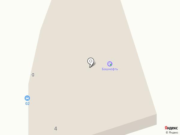 ИнтерКомАвто на карте Уфы