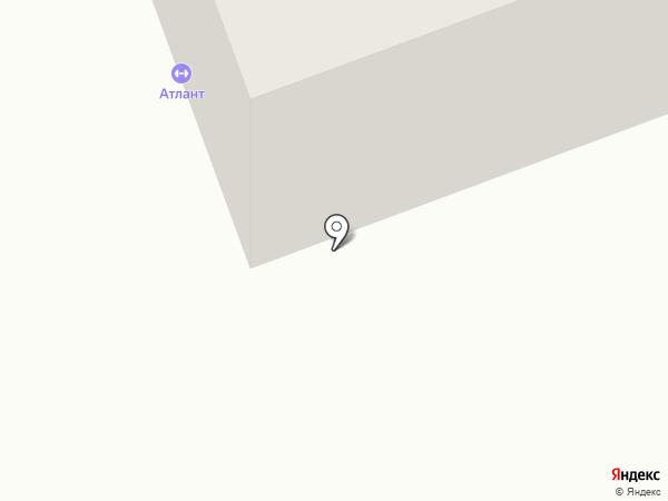 Атлант на карте Песьянки