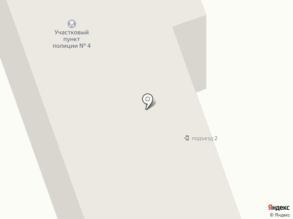 Участковый пункт полиции на карте Песьянки