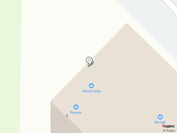 Автостекла Уфа на карте Уфы
