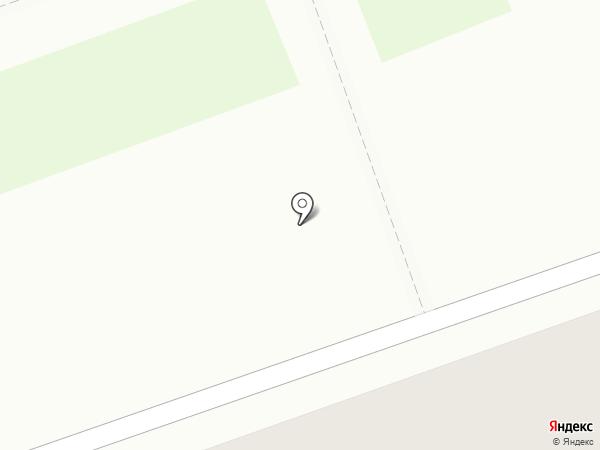 Магазин трикотажа и канцтоваров на карте Песьянки