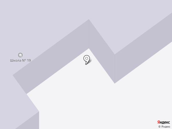 Средняя общеобразовательная школа №19 на карте Ишимбая