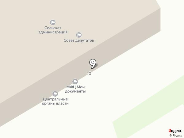 Песьяновская сельская врачебная амбулатория на карте Песьянки
