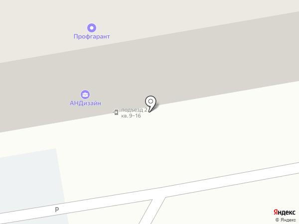 Инстамина на карте Уфы