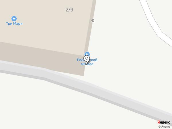 Дементов А.А. на карте Уфы