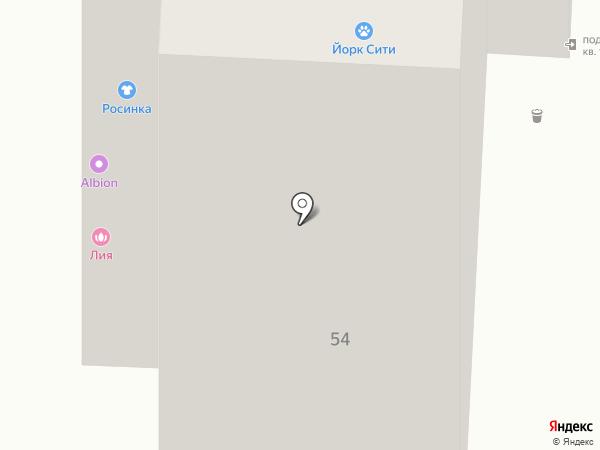 Лия на карте Уфы