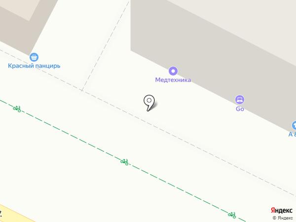 GSM Service Уфа на карте Уфы