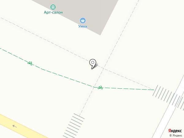 Алабыш на карте Уфы