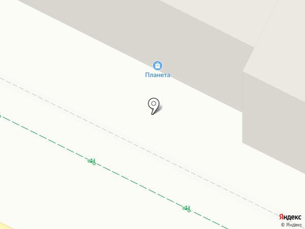 Крепеж плюс на карте Уфы