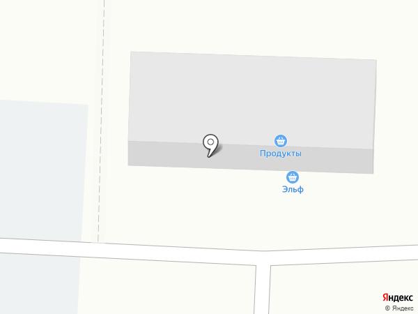 Продовольственный магазин на карте Уфы