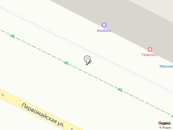 Платежный терминал, АКИБАНК, ПАО на карте Уфы