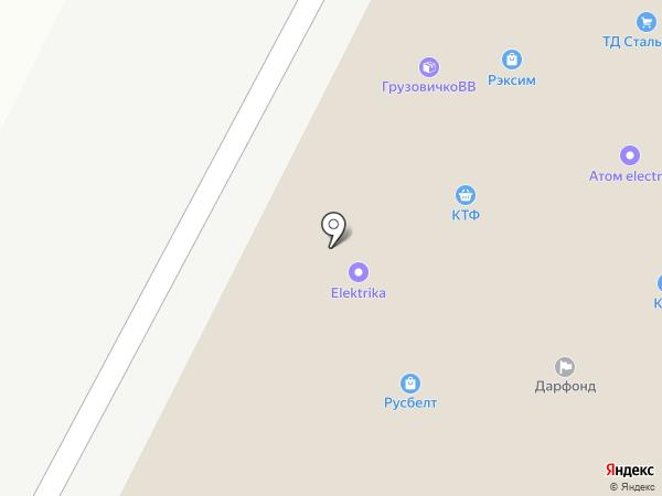ПЕРВЫЙ СТРОЙЦЕНТР САТУРН-Р на карте Уфы