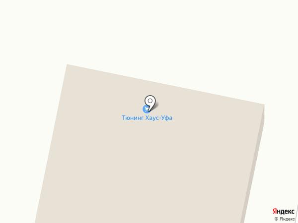 Авто-Радин на карте Уфы
