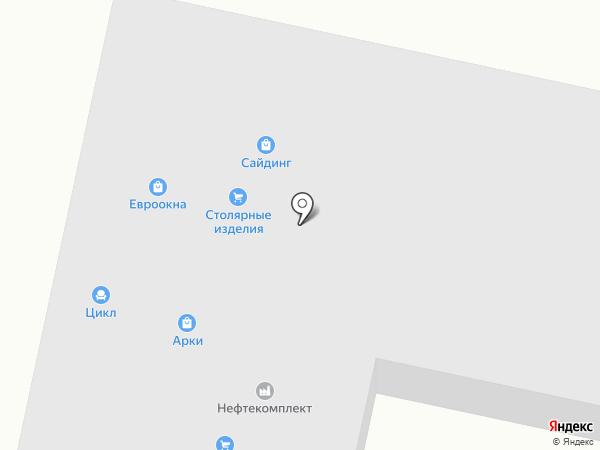 ЗИАС на карте Уфы