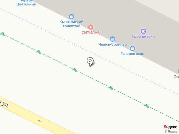 Ювелирная мастерская на карте Уфы