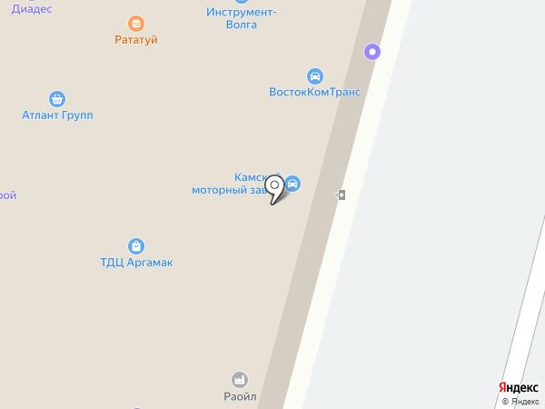 Арсенал на карте Уфы