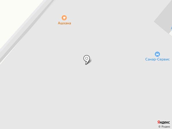 Ашхана на карте Уфы