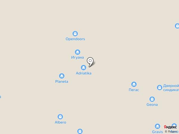 Дариано на карте Уфы
