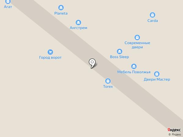 Torex premium на карте Уфы