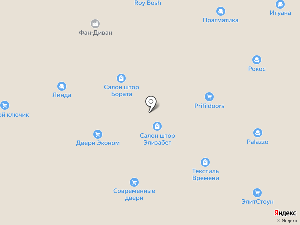 Кафель-Холл на карте Уфы