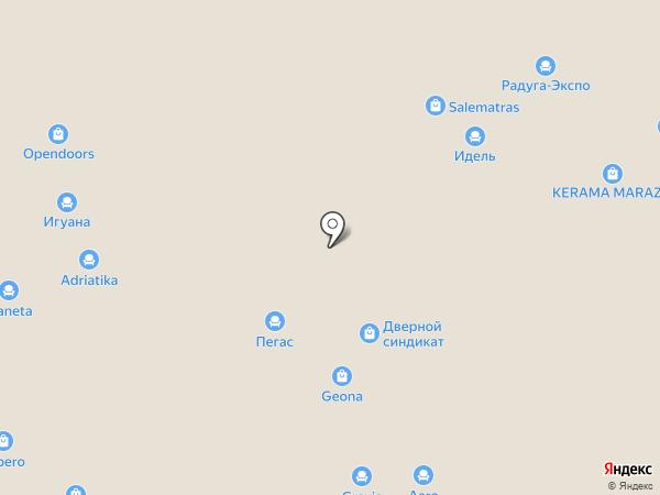 Casaporte на карте Уфы