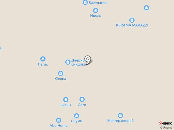 Верда Уфа на карте Уфы