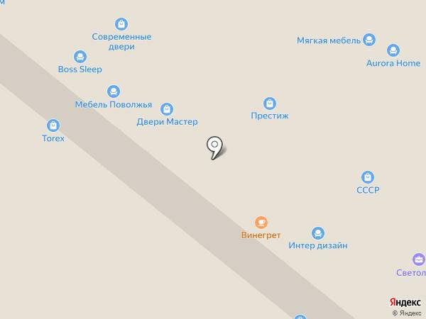 Триус на карте Уфы