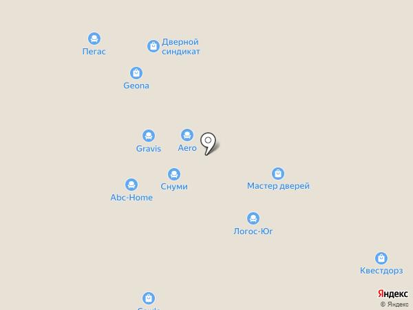 Aero на карте Уфы