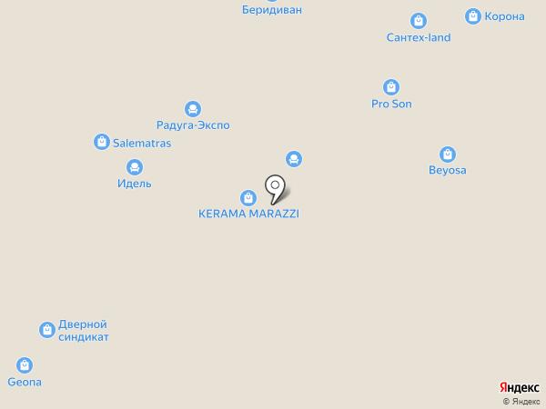 Комфорт на карте Уфы